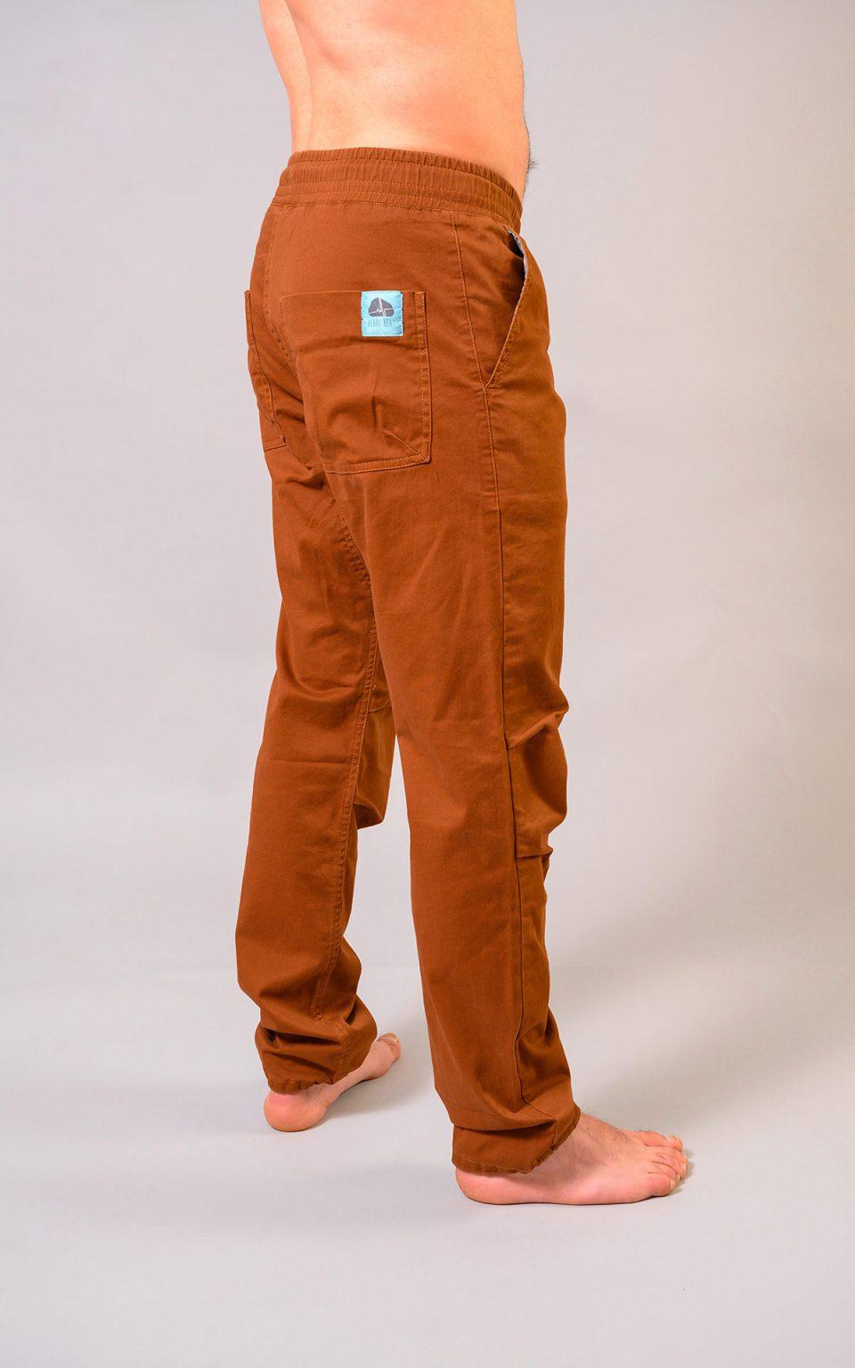 Spodnie Cotton Classic - brązowe