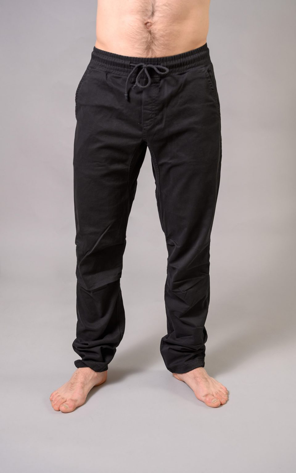 Spodnie Cotton Crosscut man- czarne