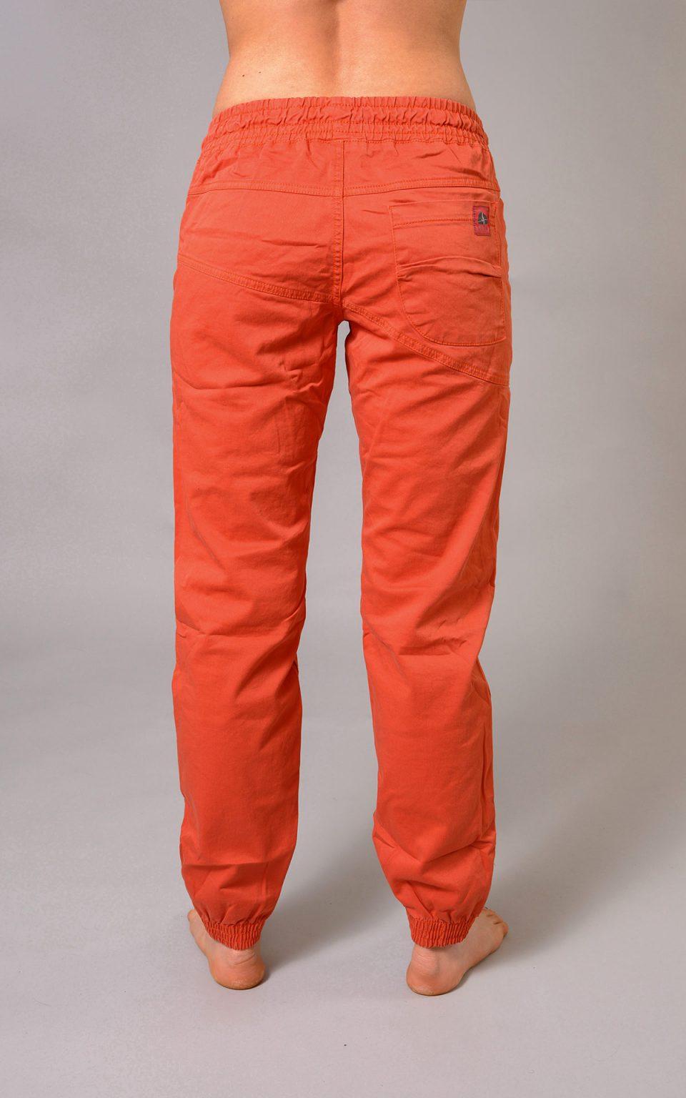 Spodnie Cotton Crosscut - ceglasty pomarańcz