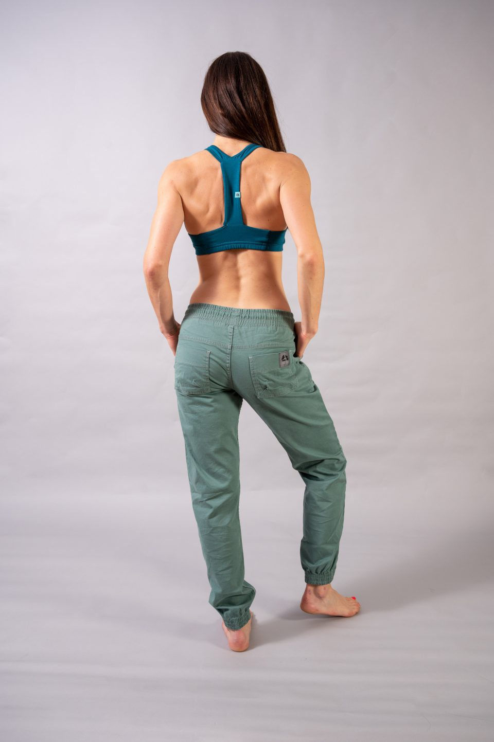 Spodnie Cotton Classic- miętowe