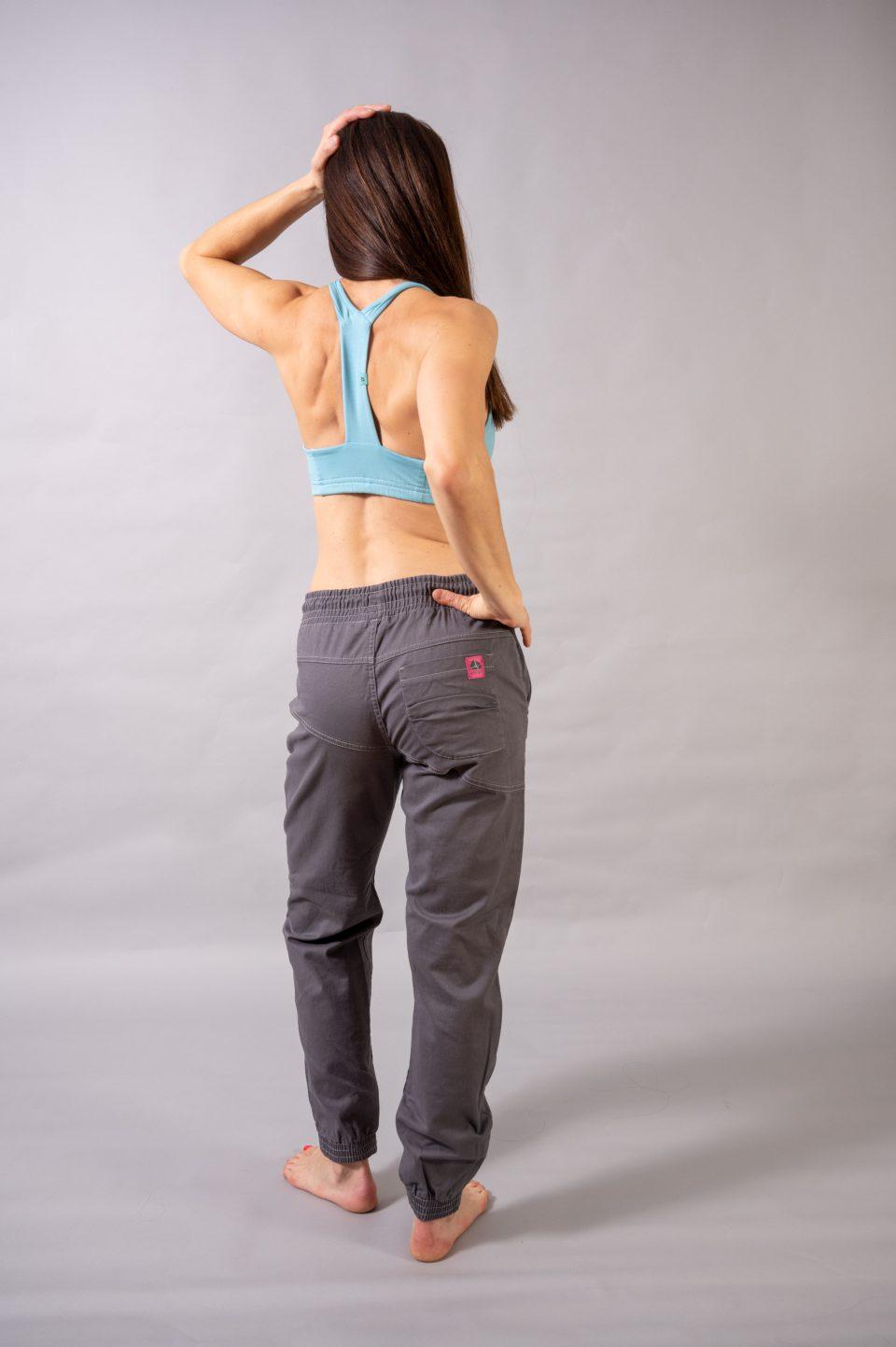 Spodnie Cotton Crosscut - szare