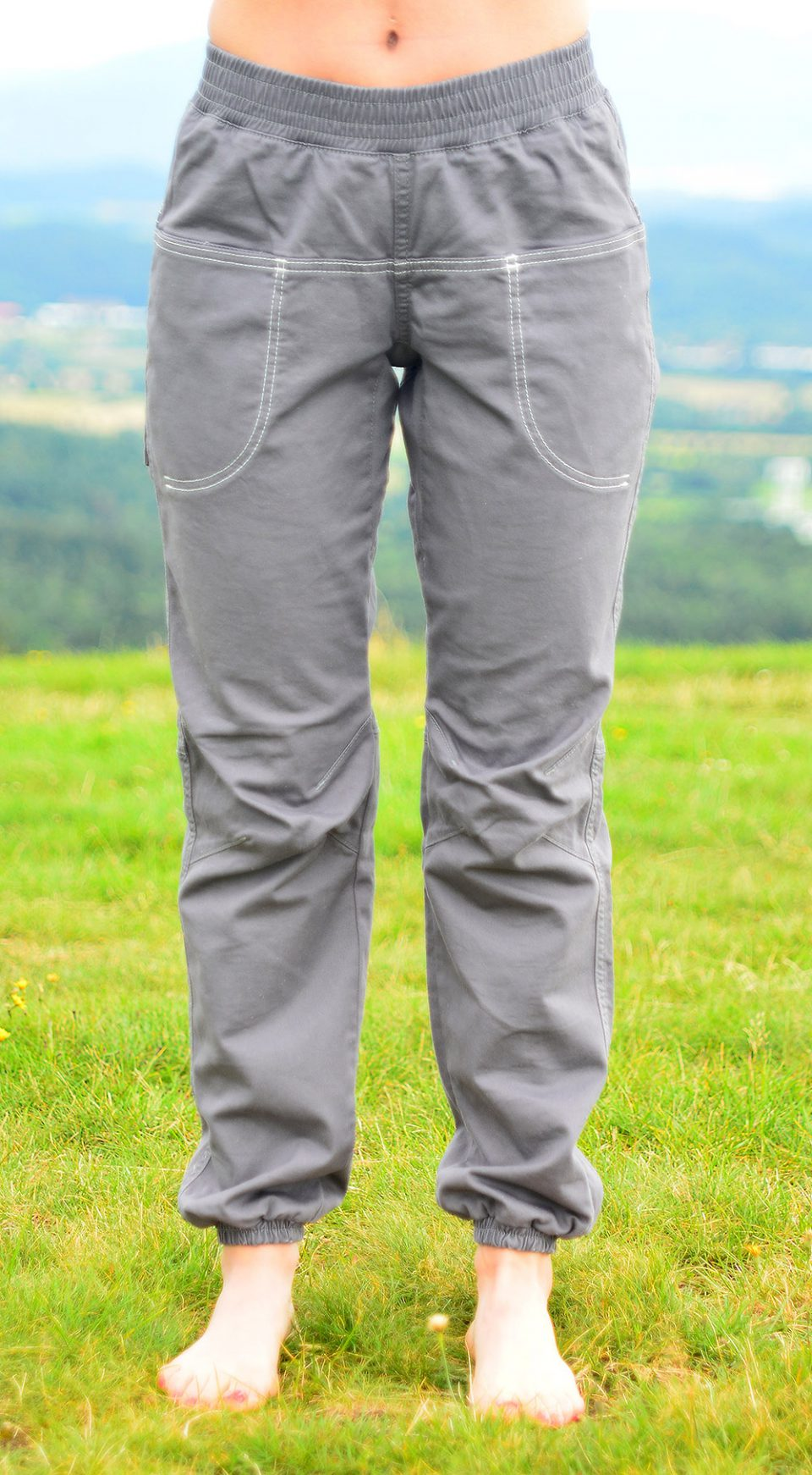Spodnie Balance- szare
