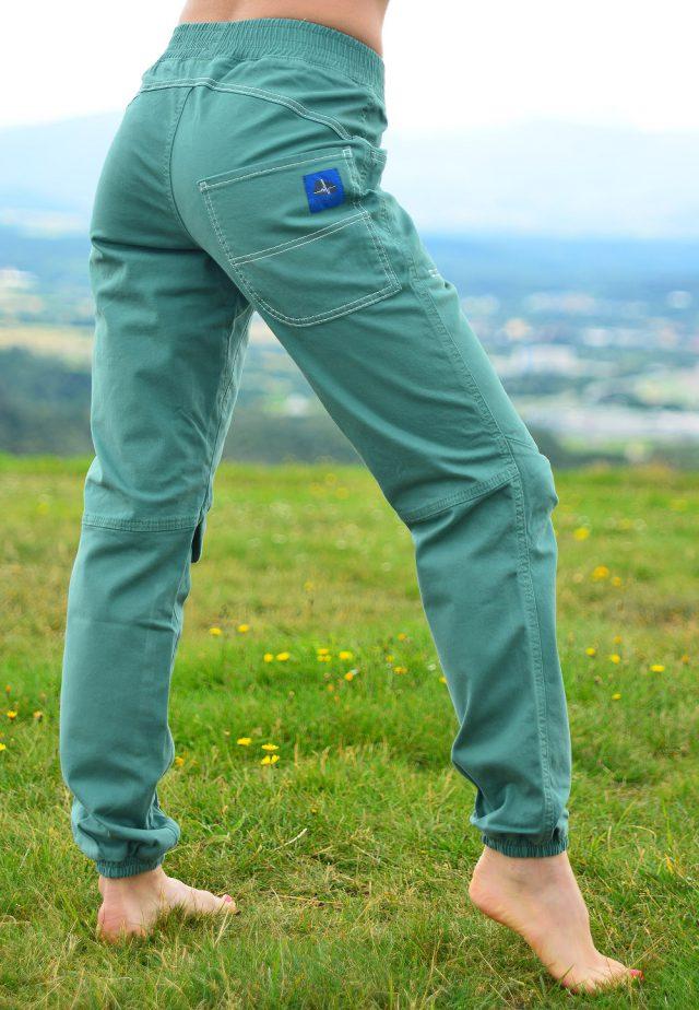 Spodnie Balance- miętowe